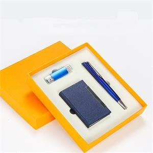 pen , card case and 8 GB usb Gift Set