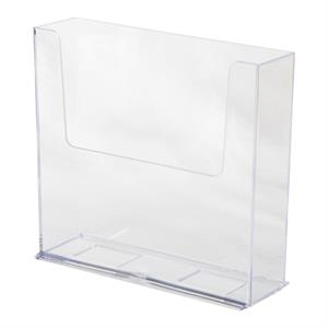 """Acrylic Brochure Holder for 7.5\""""W literature"""