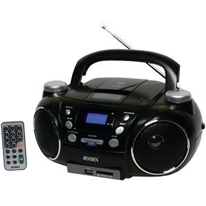 Jensen Portable AM/FM Stereo CD Player w/MP3 Encoder/Player