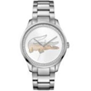 Victoria New Ladies Watch SS Case & Bracelet White Dial
