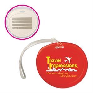 Traveler Round Luggage Tag