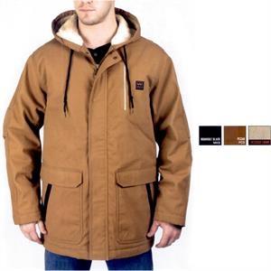 Henderson - Super Duck Sherpa Lined Hooded Coat