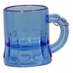 2 oz. Blue Beer Mug Medallion with J-Hook
