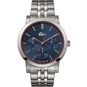 Metro Men's Watch. SS Case & Bracelet. Blue Chronograph Dial