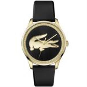 Victoria New Ladies Watch Thin GP Steel Case Black Dial