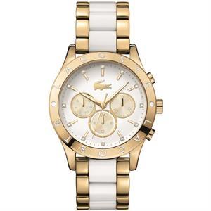 Charlotte Thin GP S Case Wht TR90/IP Gold Bracelet Wht Dial