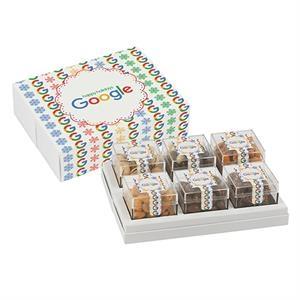 6 Way Signature Cube Collection - Elegant Snack Assortment