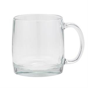 13 oz Nordic 13 latte glass mug wth C-handle