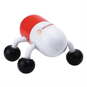 Invigorating capsule massager