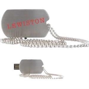 256MB Lewiston USB Flash Drive (Overseas)