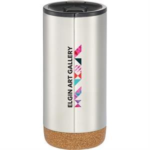 Valhalla Copper Vacuum Tumbler with Cork 16oz