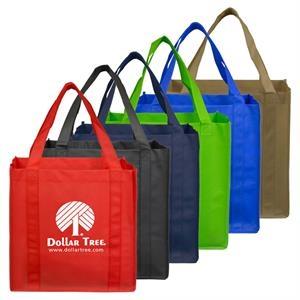 "12-1/2""w x 13""h Mega Grocery Shopping Tote Bag"