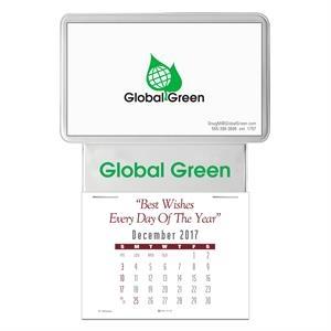 Press-N-Stick (TM) Business Card Calendar