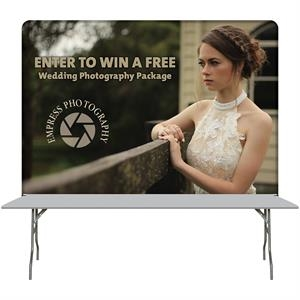 8' Table Top Hardware & Large Banner Kit
