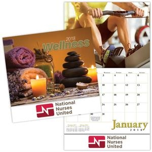 Kingswood Collection Stitched Wellness Wall Calendar