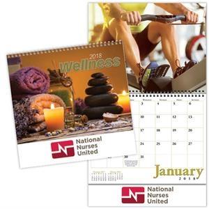 Kingswood Collection Spiral Wellness Wall Calendar