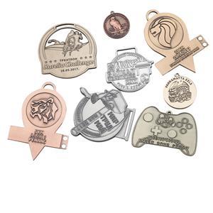 Diestruck antique medal cut out