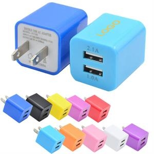 Dual USB Wall Charger Adapter