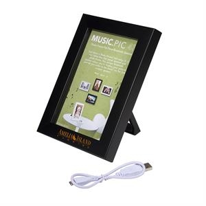 """4"""" x 6"""" Wireless Speaker and Picture Frame"""