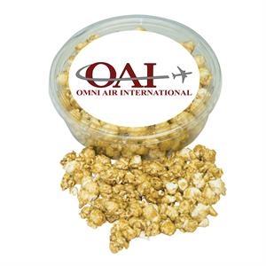 Designer Plastic Tray with Caramel Popcorn