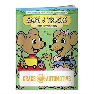 Coloring Book: Cars & Trucks
