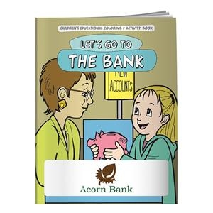 Coloring Book: Let's Go to the Bank