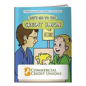 Coloring Book: Let's Go to the Credit Union