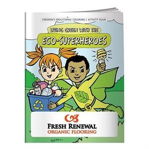 Coloring Book: Eco-Superheroes