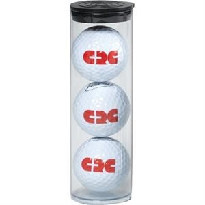 3 Golf Balls in Tube