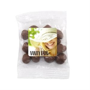 Bountiful Bag with Chocolate Raisins Candy- Full Color Label