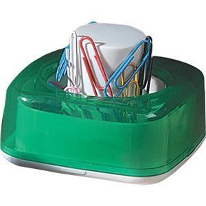 Desktop Push Paper Clip Dispenser