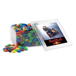 Chocolates in a Clear Acrylic Large Box