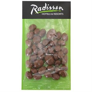 Large Billboard Full Color Header Candy Bag-Choc Raisins