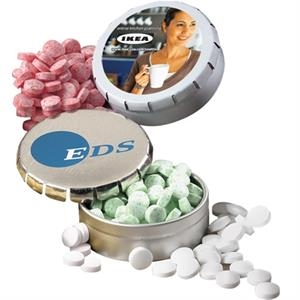 Sugar Free Peppermint Mints in Snap Top Pocket Mint Tin