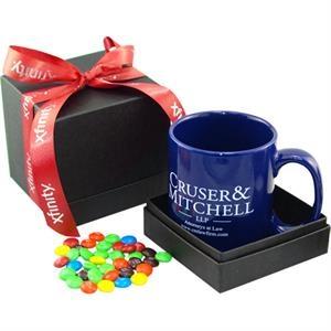 Gift Box with Mug & Coated Chocolate