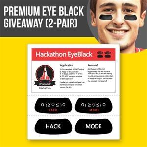 Premium Eye Black Giveaway, 2 pairs (4 units)