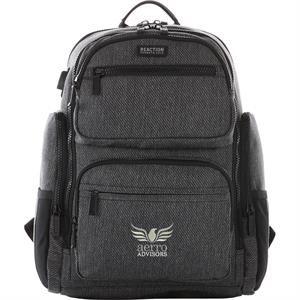 """Kenneth Cole Double Pocket 15\"""" Computer Backpack"""
