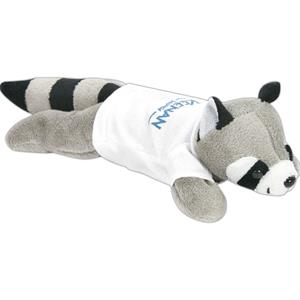 So Soft 8 Quot Laying Beanie Animal Raccoon Brilliant