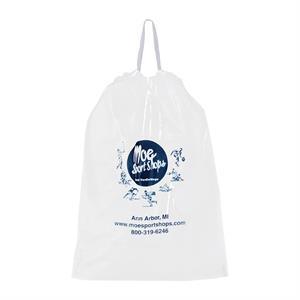 Poly-Draw Tape Plastic Bag - Flexo Ink