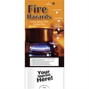 Pocket Slider - Fire Hazards and Escape Plan