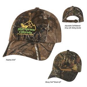 Realtree™ & Mossy Oak® Hideaway Camouflage Cap