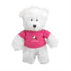 Gund® Plush White Baby Bear