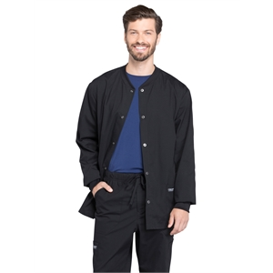Workwear Professionals Snap Front Warm-up Jacket