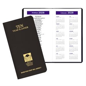 10 Year Reference Planner - Leatherette