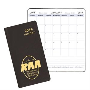 Monthly Pocket Planner - Continental