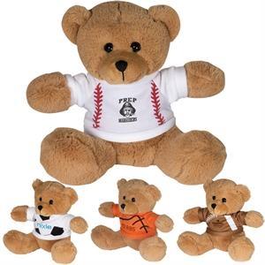 "7"" GameTime!® Plush Bear"