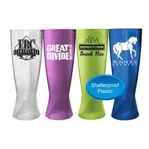 18 OZ. Pilsner Beer Glass- Closeout