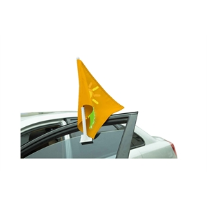 "20"" Standard Double Sided Car Window Flags"