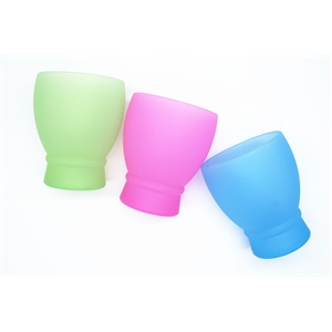Foldable Food Grade Silicone Unbreakable Wine Glasses Cup