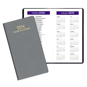 10 Year Reference Planner- Frosted